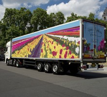 Painted lorry - Alisha Miller