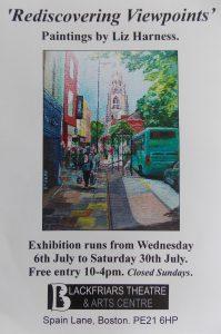 Liz Harness Exhibition Blackfriars